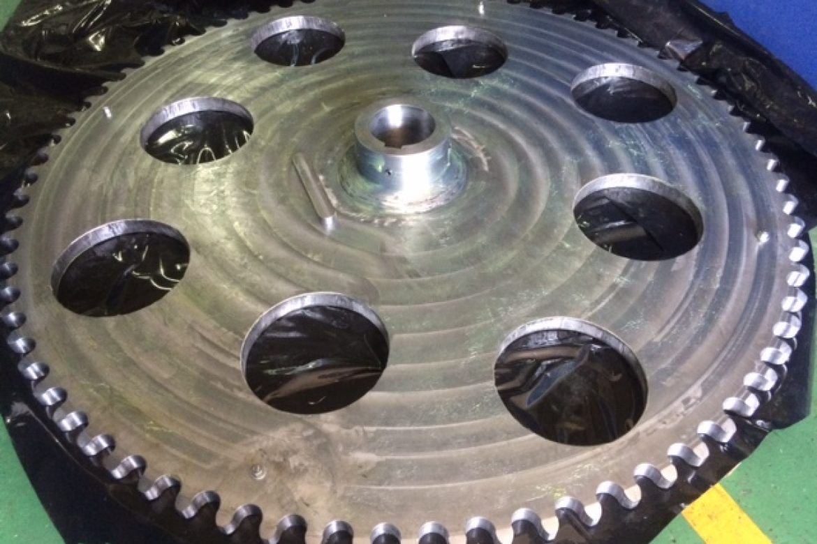 Sprocket for Sugarcane Industry in La Reunion